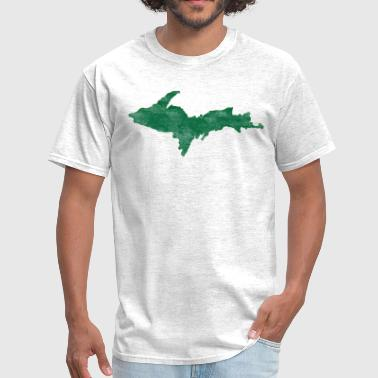 Upper Distressed Vintage Upper Peninsula U.P. Shirts Tee - Men's T-Shirt