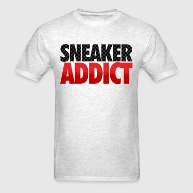 sneaker addict carbon fiber - Men's T-Shirt