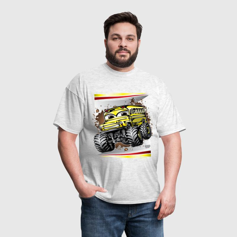 Cool Monster Bus - Men's T-Shirt
