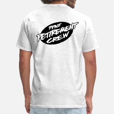 PPNF retirement Crew Back, PYT front - Men's T-Shirt