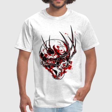 skull and spider - Men's T-Shirt