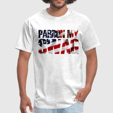swag, pardon my swag - Men's T-Shirt