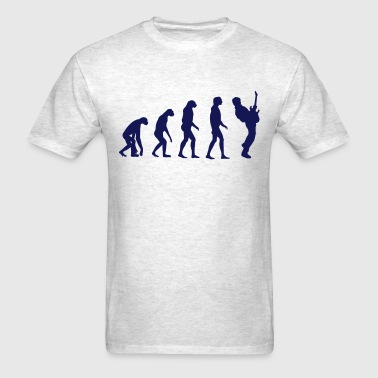 Guitar Player Evolution - Men's T-Shirt