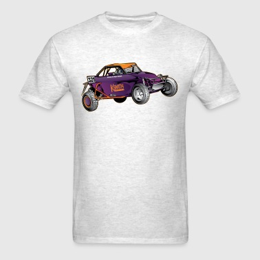Purple Race Buggy - Men's T-Shirt