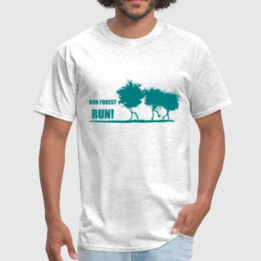 Runner Stuff RUN FOREST RUN - Men's T-Shirt