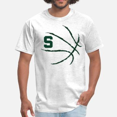 Basketball Michigan MSU Basketball Michigan State Spartans - Men's T-Shirt