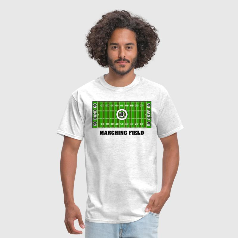 Marching Band Field (Men's) - Men's T-Shirt