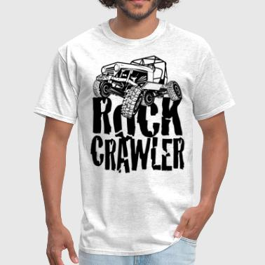 Rock Crawling Rock Crawling Jeep - Men's T-Shirt