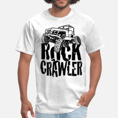 Rock Crawling Truck Rock Crawling Jeep - Men's T-Shirt