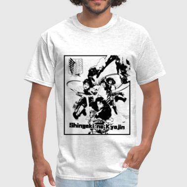 attack on titan - regiment scout - Men's T-Shirt