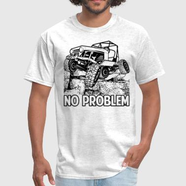 No Problem Rock Crawling Jeep - Men's T-Shirt