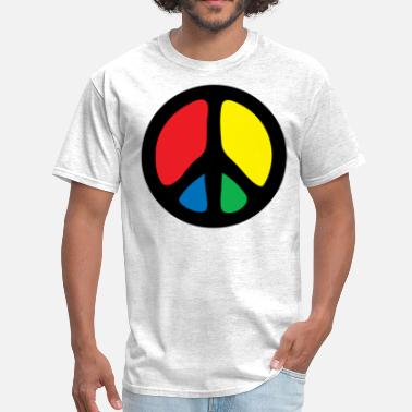 Funny Peace Sign peace sign - Men's T-Shirt