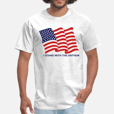 8c6f430f3 Stand For Anthem I stand with the anthem - Men  39 s T-