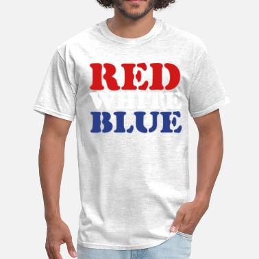 Red White And Blue Red White Blue - Men's T-Shirt