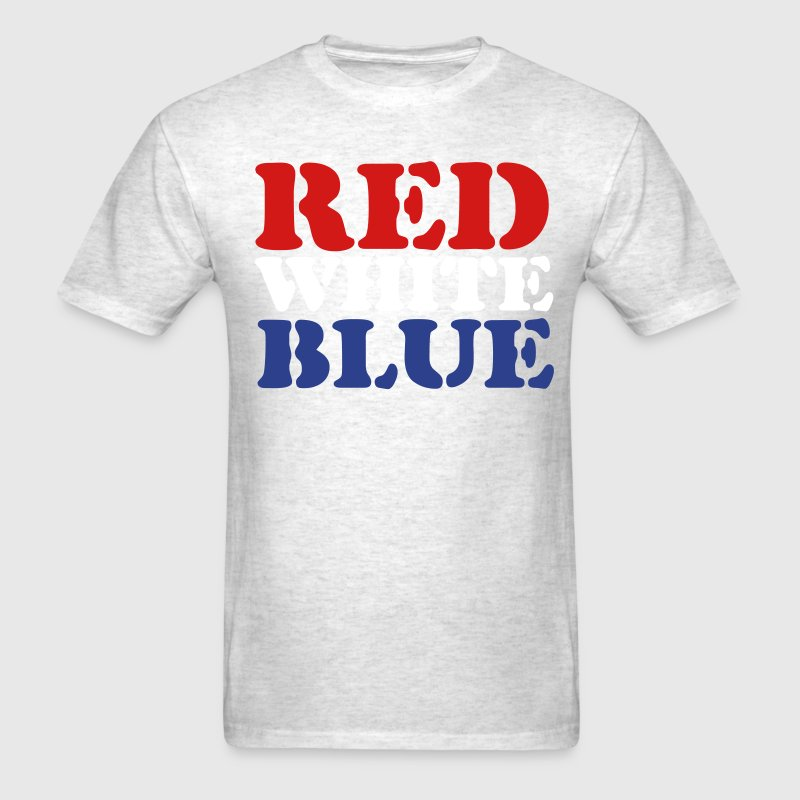 Red White Blue - Men's T-Shirt