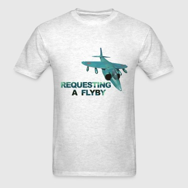 Top Gun Flyby - Men's T-Shirt