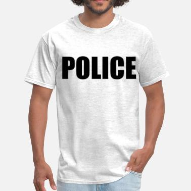 Police Or Fbi Agent Or Us Marshal Police (1) - Men's T-Shirt