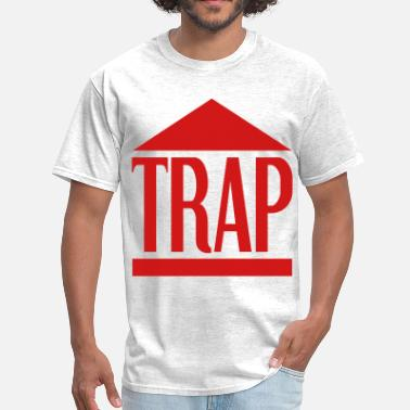 Graphic trap house - Men's T-Shirt