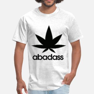 Boobs Bad a bad ass weed logo - Men's T-Shirt