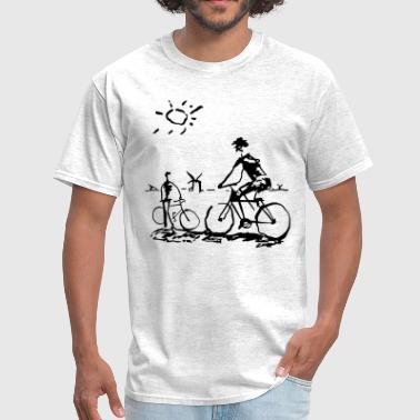 Bicycle Bicycling Picasso - Men's T-Shirt