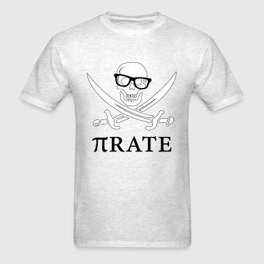 Geek Pi-rate - Men's T-Shirt