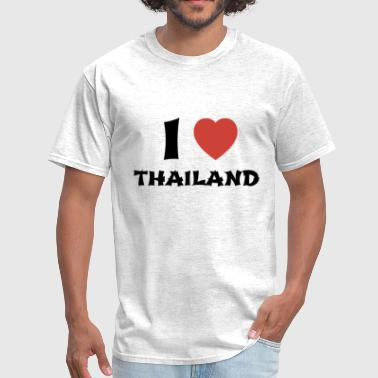 I Love Thailand - Men's T-Shirt