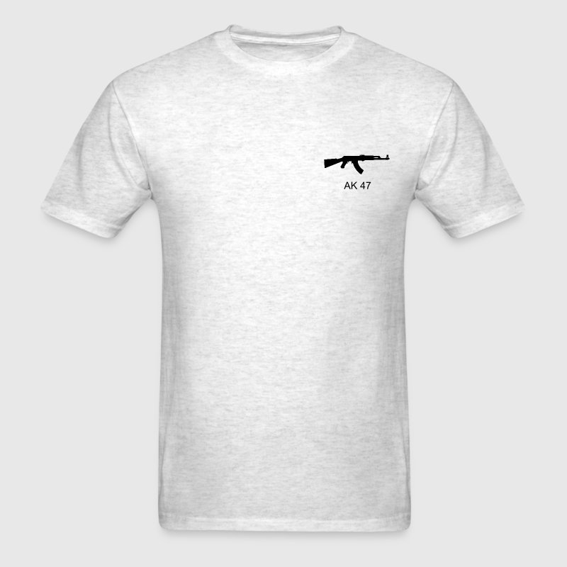 ak 47.png - Men's T-Shirt