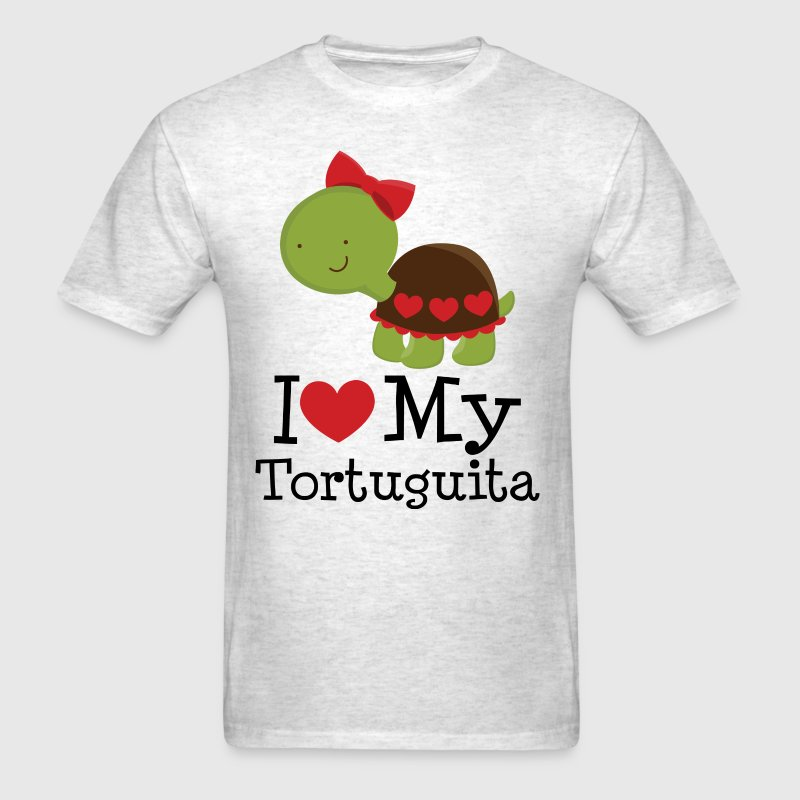 I Love My Tortuguita - Men's T-Shirt