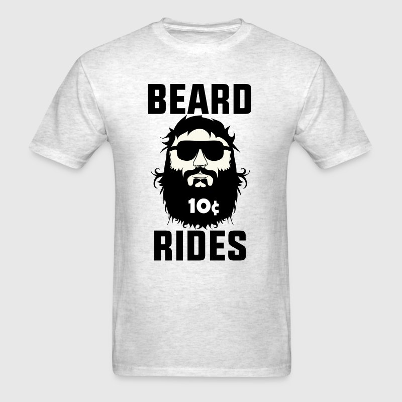 Beard Rides - Men's T-Shirt