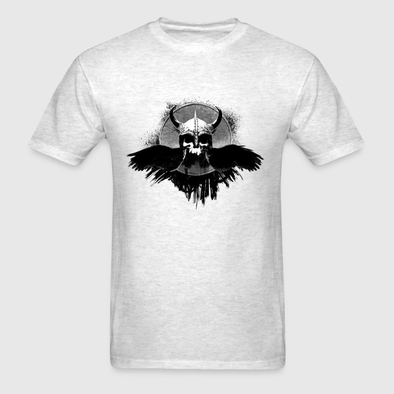 viking skull - Men's T-Shirt