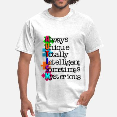 Autism Awareness autism - Men's T-Shirt
