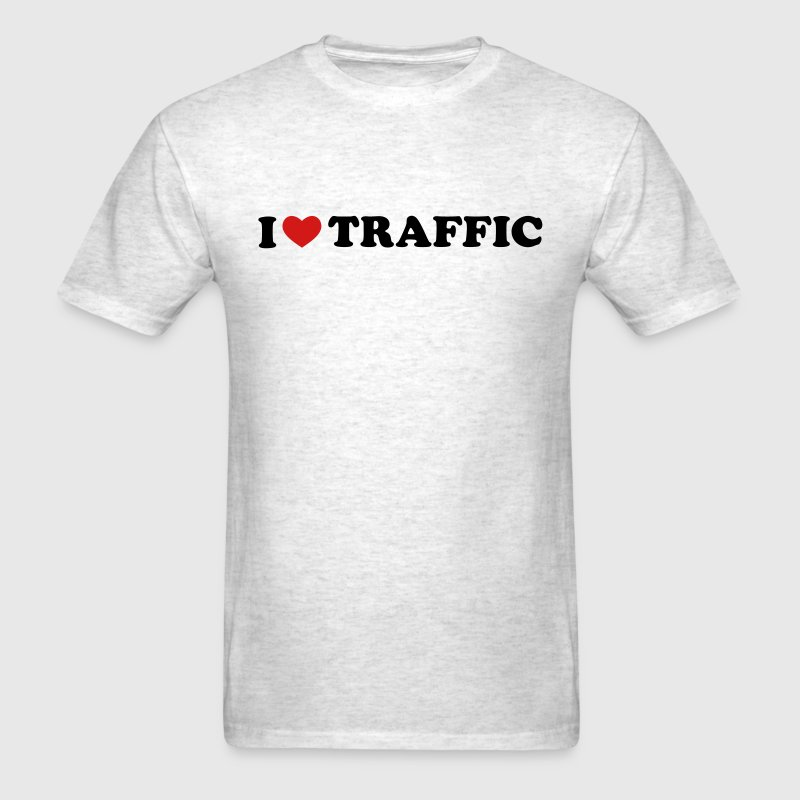 I Love Traffic - Men's T-Shirt