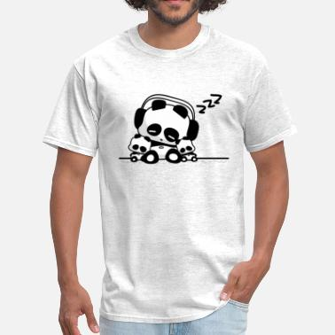 Sleeping Panda Sleeping Pandas - Men's T-Shirt