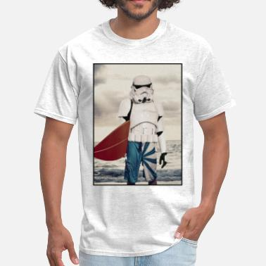 Surf Wave Photo Stormtrooper on his day off - Men's T-Shirt