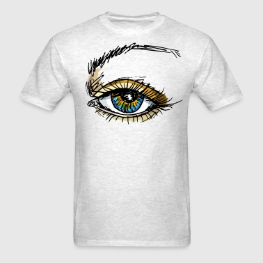 blue eye - Men's T-Shirt