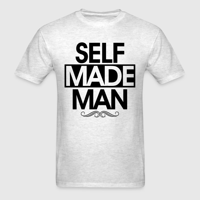 self made man - Men's T-Shirt