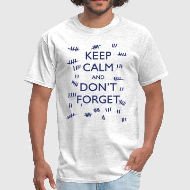 Amy Pond KEEP CALM AND DON'T FORGET - Men's T-Shirt