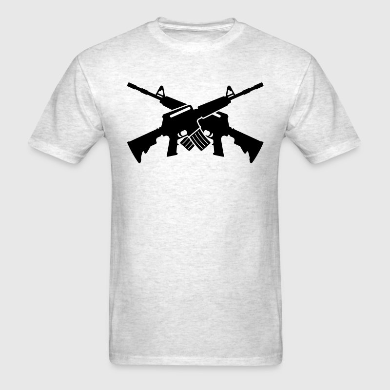 Crossed M16 - Men's T-Shirt