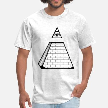 Cool All Seeing Pyramid - Men's T-Shirt
