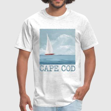 Cape Cod Cape Cod Coastal Scene - Men's T-Shirt
