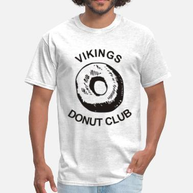 Vikings Vikings Donut Club - Men's T-Shirt