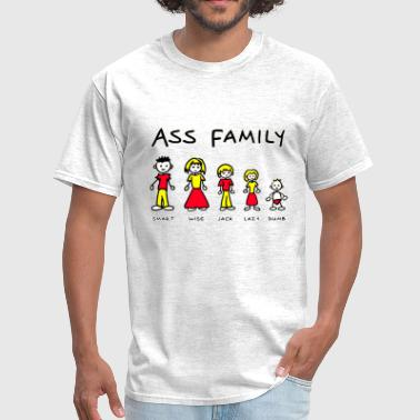 Comic Ass THE ASS FAMILY - Men's T-Shirt