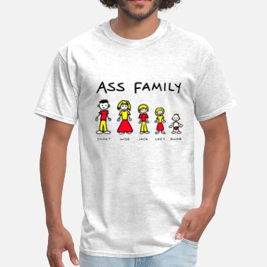Comic THE ASS FAMILY - Men's T-Shirt