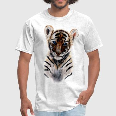 tiger baby - Men's T-Shirt