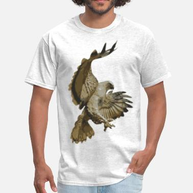 Pouncing Hawk Pouncing - Men's T-Shirt
