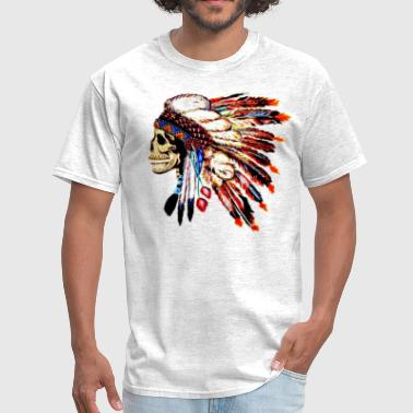 skull headdress - Men's T-Shirt