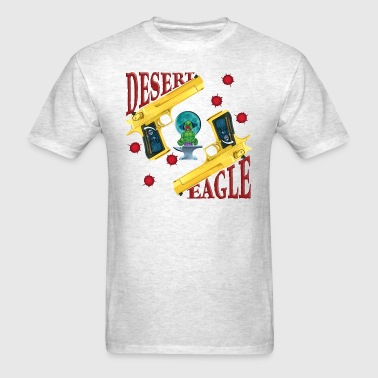 Evil Clown Gold Desert Eagle - Men's T-Shirt