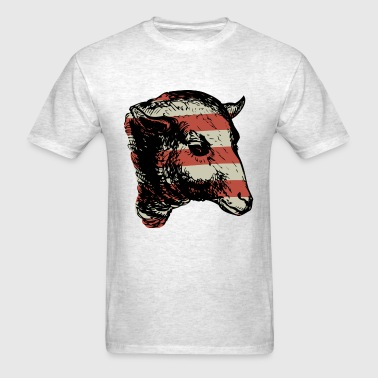 Sheeple - Flag - Men's T-Shirt