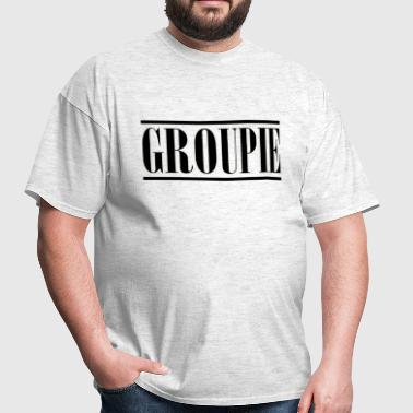 groupie black - Men's T-Shirt