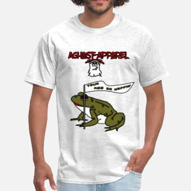 Aghast Hopper by: Aghast-Apparel (Any Color) - Men's T-Shirt